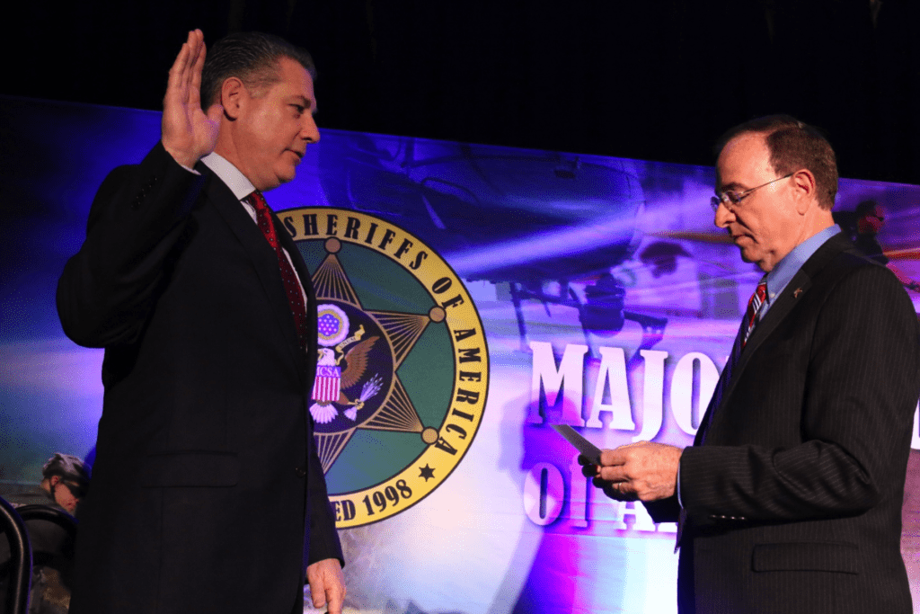 Sheriff Koutoujian Sworn In As Vice President of MCSA 2019 at the Winter Conference