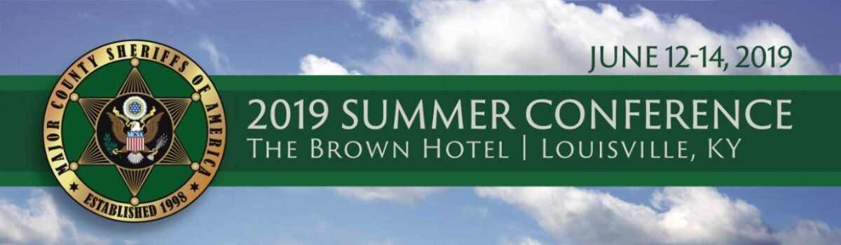 Summer 2019 Conference Registration