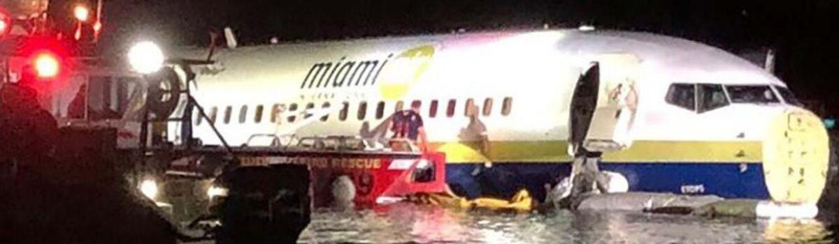 Boeing 737 Goes Off Runway Into River In Jacksonville, Fla.