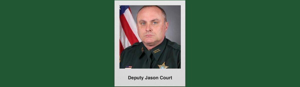 Sarasota County Mourns The Death Of Deputy Jason Court