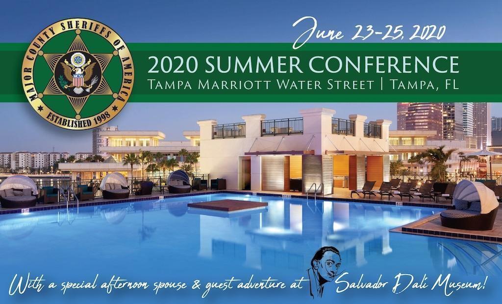 2020 Summer Conference Major County Sheriffs of America