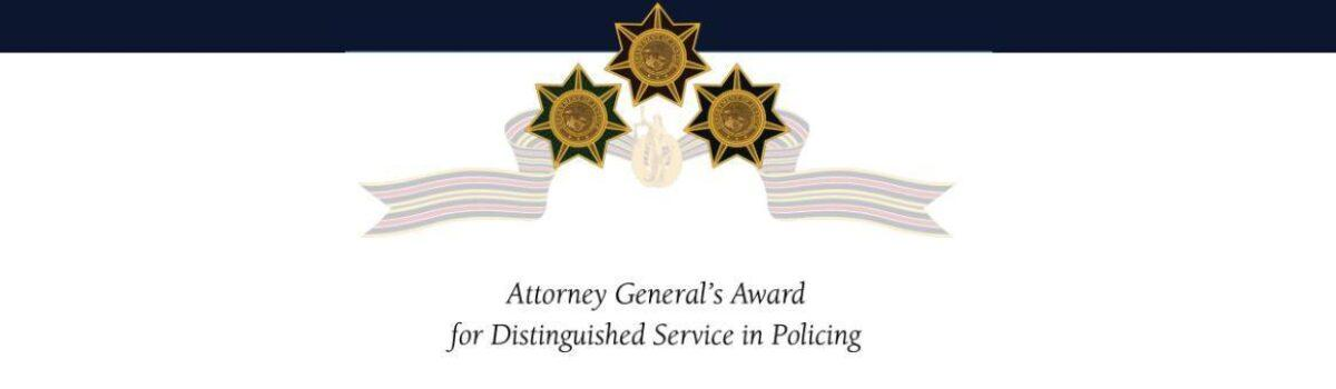 AG Distinguished Service in Policing Award Accepting Nominations
