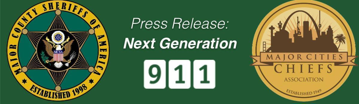 MCSA Leads Effort to Upgrade America to Next Generation 9-1-1