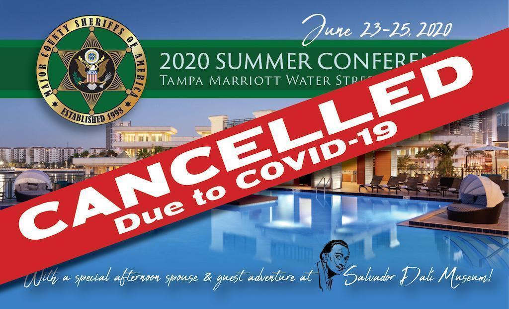 Cancelled Summer 2020 Conference Registration Tampa