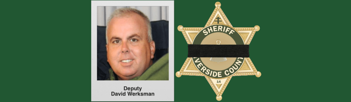 2nd Riverside County Sheriff's Deputy Dies Of Coronavirus