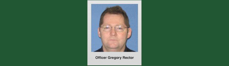Officer Gregory Rector Suffolk County Sheriff's Department