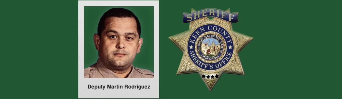 Kern County Sheriff's Deputy Dies Unexpectedly At Age 43