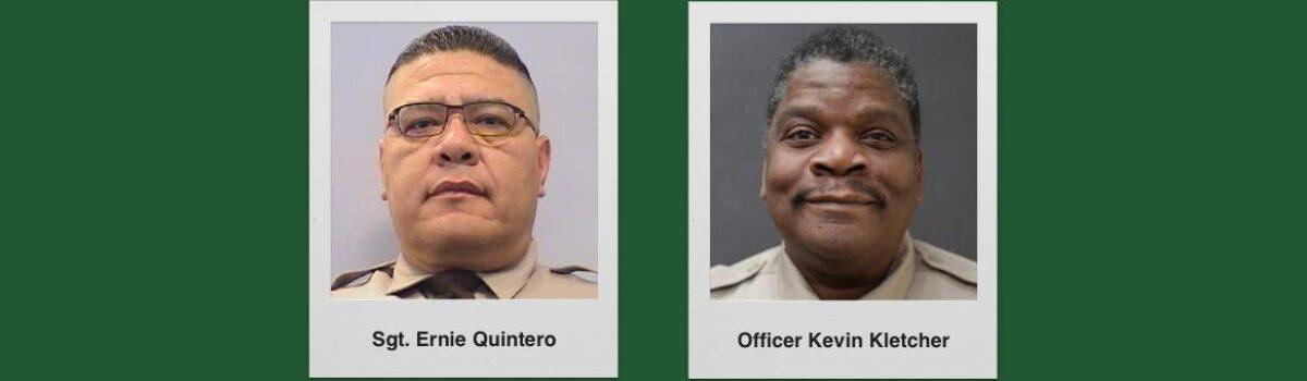 Two Long-Time Maricopa County Sheriff's Officers Have Died