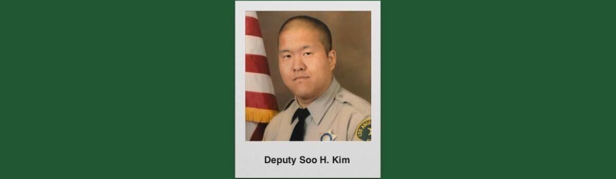 LA County Sheriff's Department Mourns Death Of Deputy Soo H. Kim