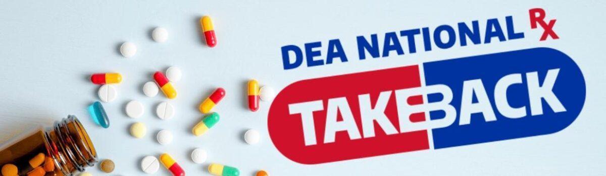 DEA Holds 19th National Prescription Drug Take Back Day