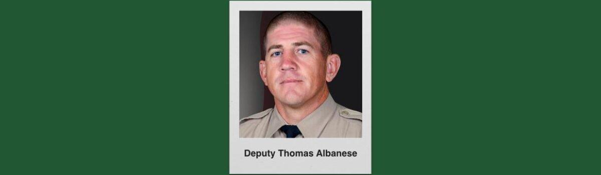 LA County Sheriff's Motorcycle Deputy Thomas Albanese Killed In Crash